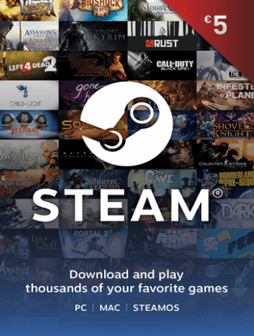 5 EUR Steam Wallet Kod