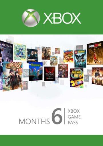 XBOX Game Pass 6 meseci Cena Srbija prodaja